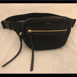 NWT Tory Burch Black Perry Nylon Belt Bag Fanny